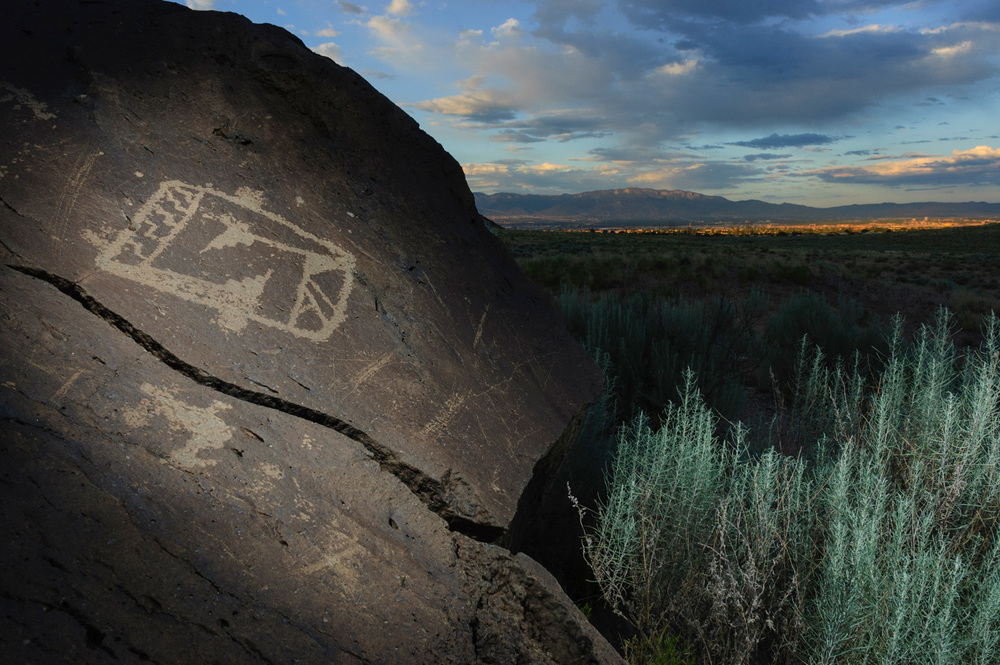 Petroglyph National Monument, Albuquerque, New Mexico