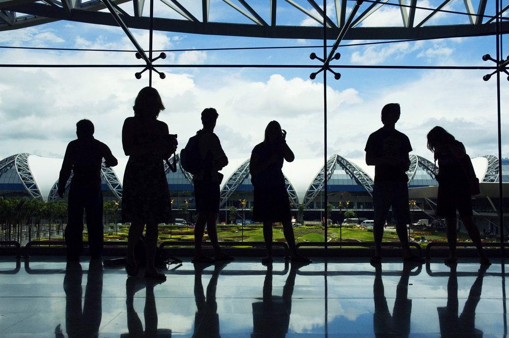 Opening Day, Suvarnabhumi Airport, Bangkok