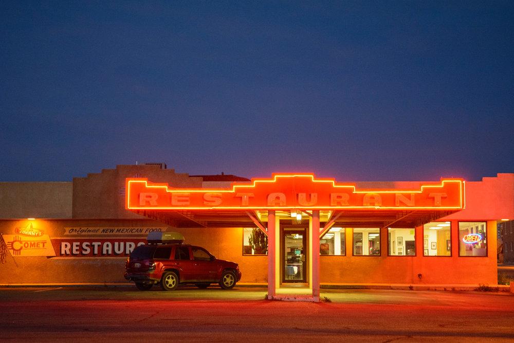 Comet II Restaurant, Santa Rosa, NM