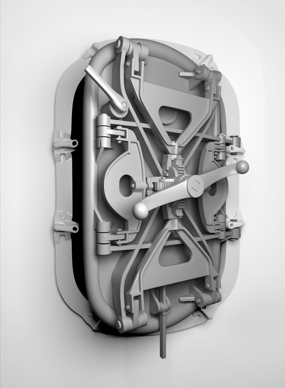 door.jpg & submarine indoor \u2014 3D Viz\u0027 \u0026 Branding