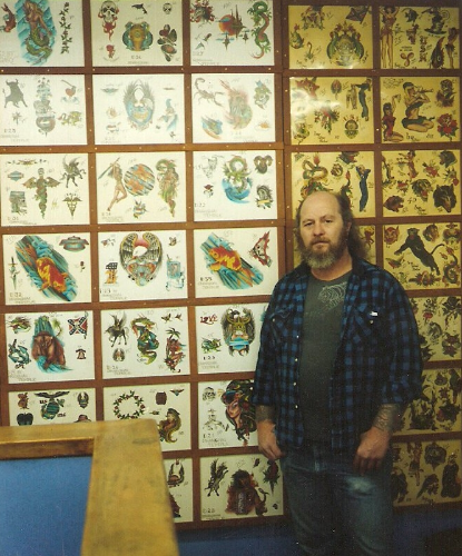 Temple Drake, Bremerton Washington, 1992.     All of the Flash is Hand colored (Spit Shaded) By: Temple Drake & Don Nolan.  Watercolor on Illustration Board.