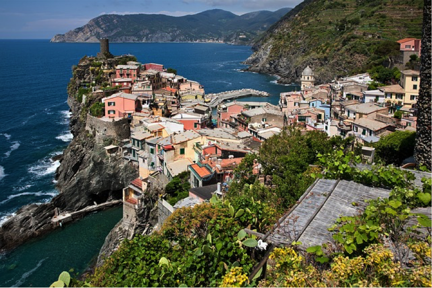 The beautiful Ligurian Coast