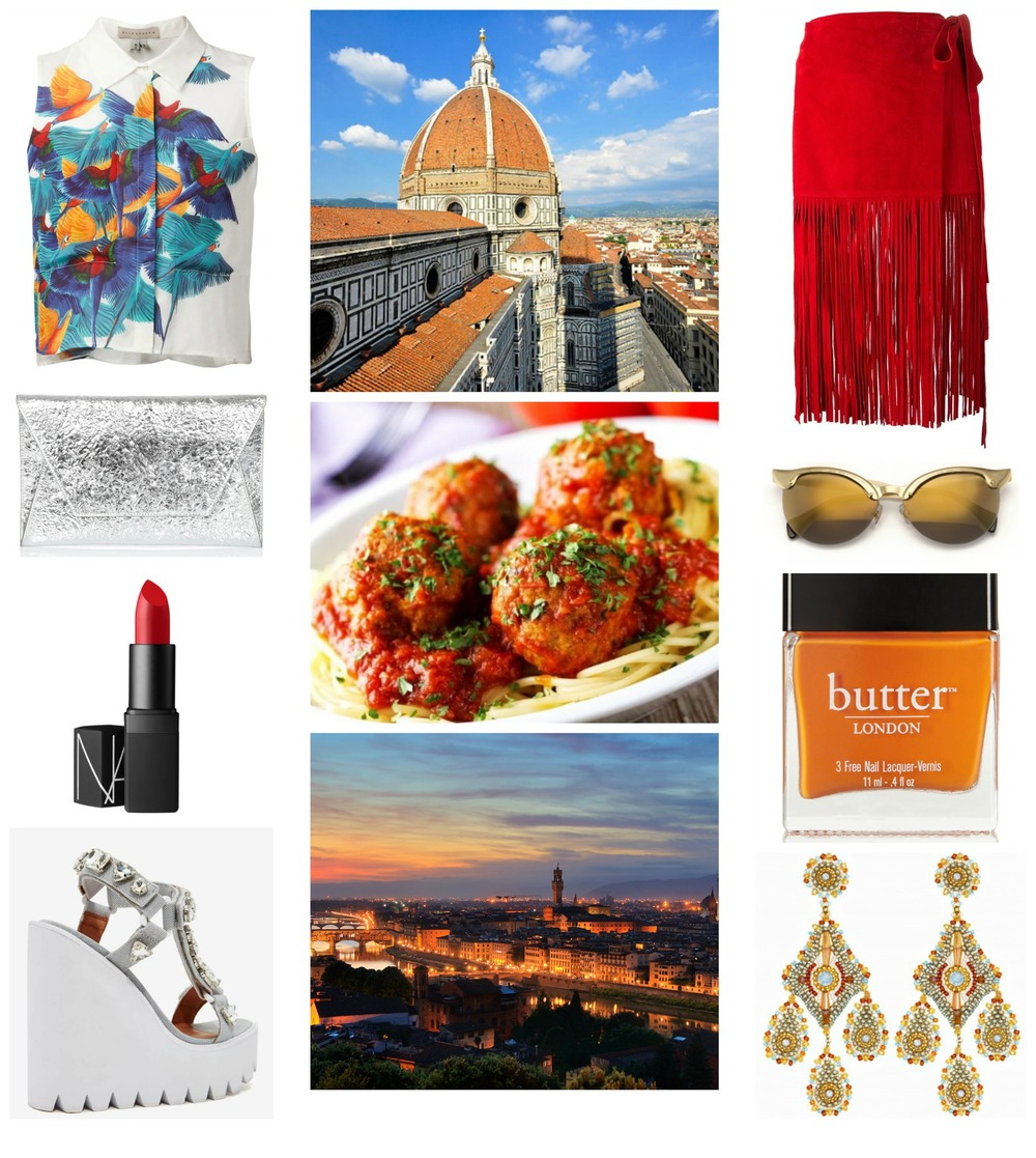 FLORENCE MOOD BOARD FROM GLOBETROTTING STILETTO