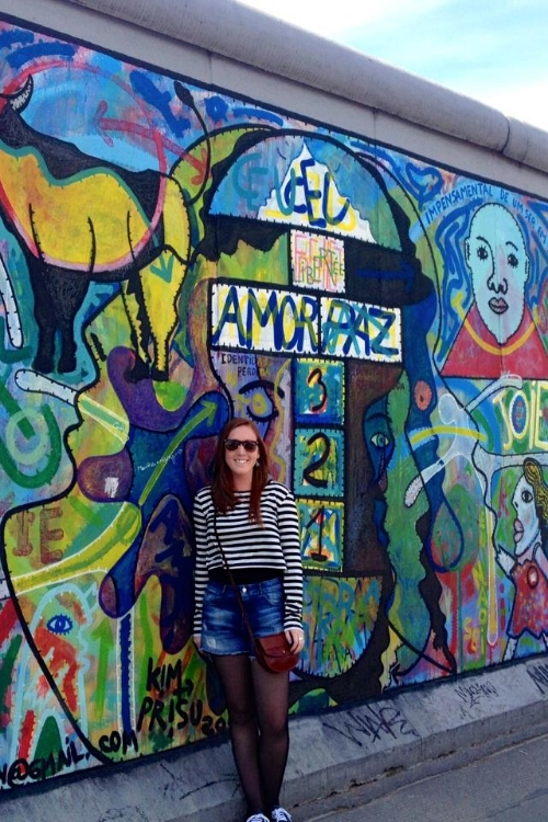 Berlin Wall, Germany - promoting peace, love, and freedom through art