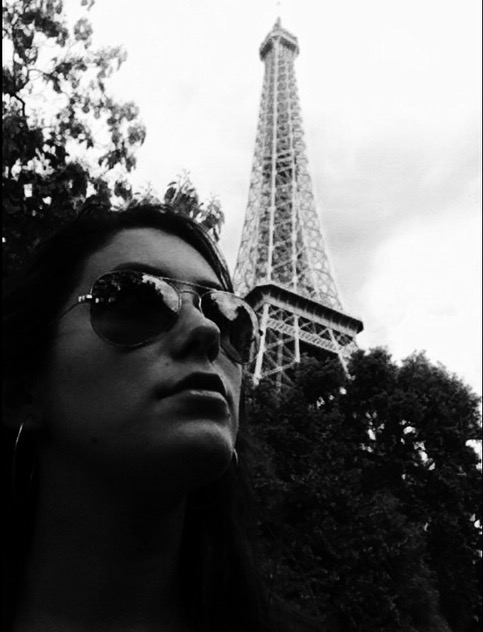 Looking out to the beauty of Paris alongside the Eiffel Tower