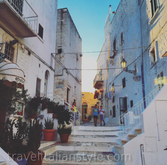 "The breathtaking ""white city"" of Ostuni"