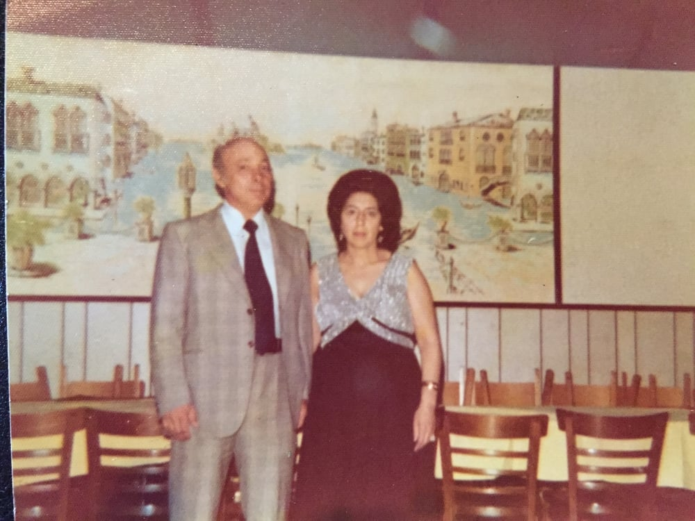 MY SICILIAN GRANDPARENTS. UNTIL THE DAY MY NONNO PASSED HE WAS SEEN IN A SUIT.