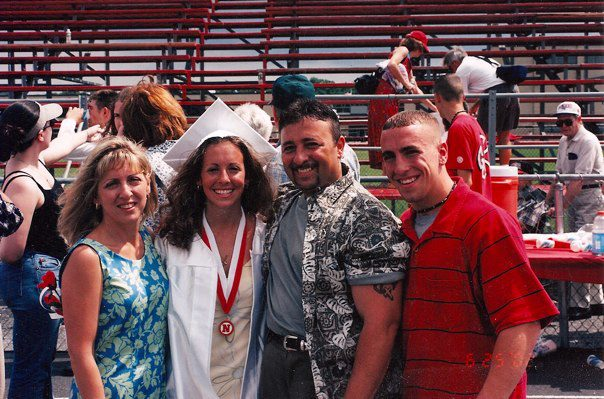 My family during my high school graduation