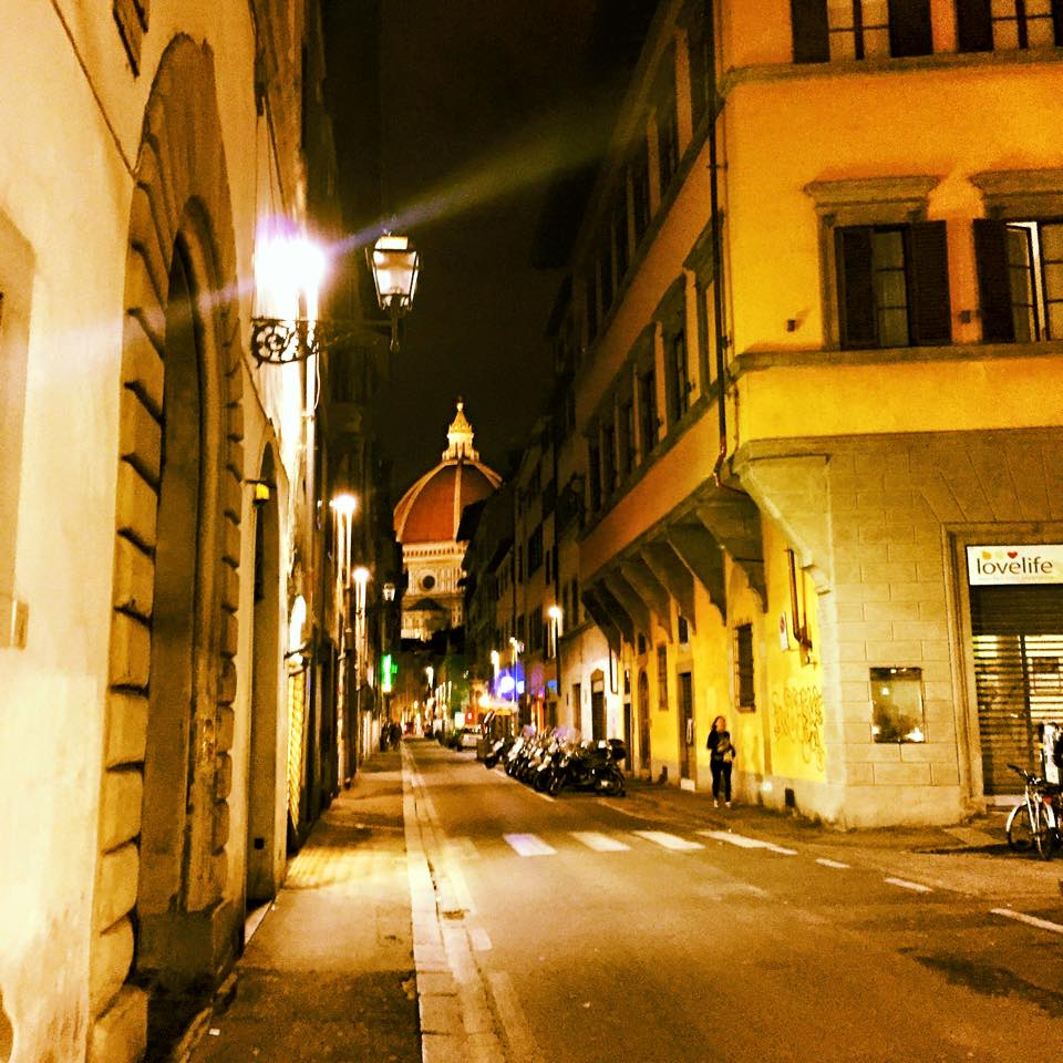 the beautiful empty streets of firenze/photo credit kelsey gibson