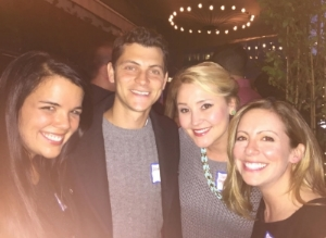 Erica, Matt  & Courtney of FLYTE with Travel italian Style Founder, Cassandra Santoro