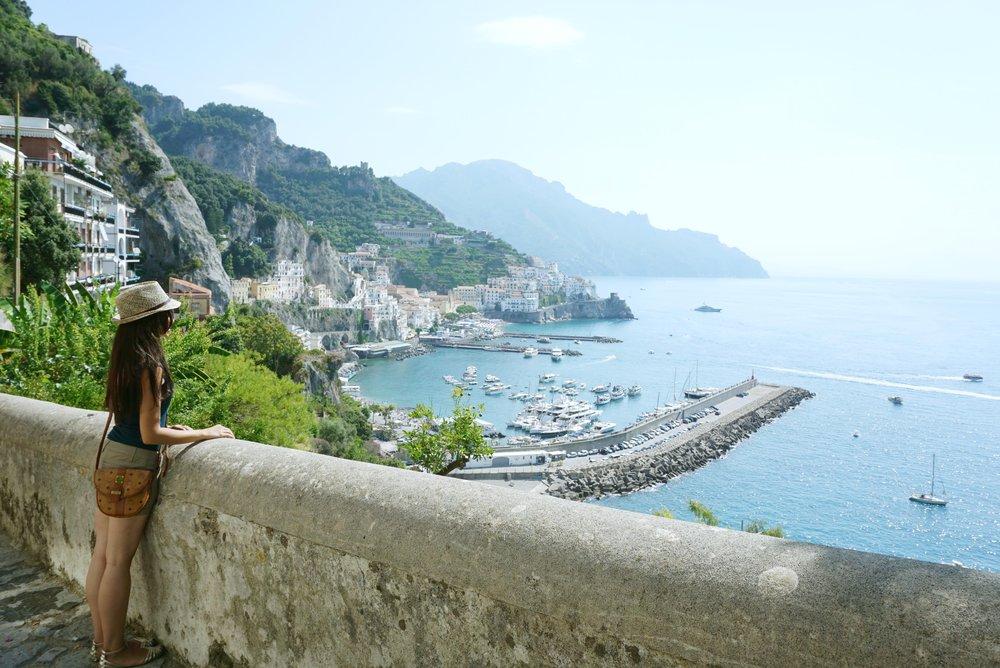 Photo Courtesy of Dame Traveler | Amalfi Italy