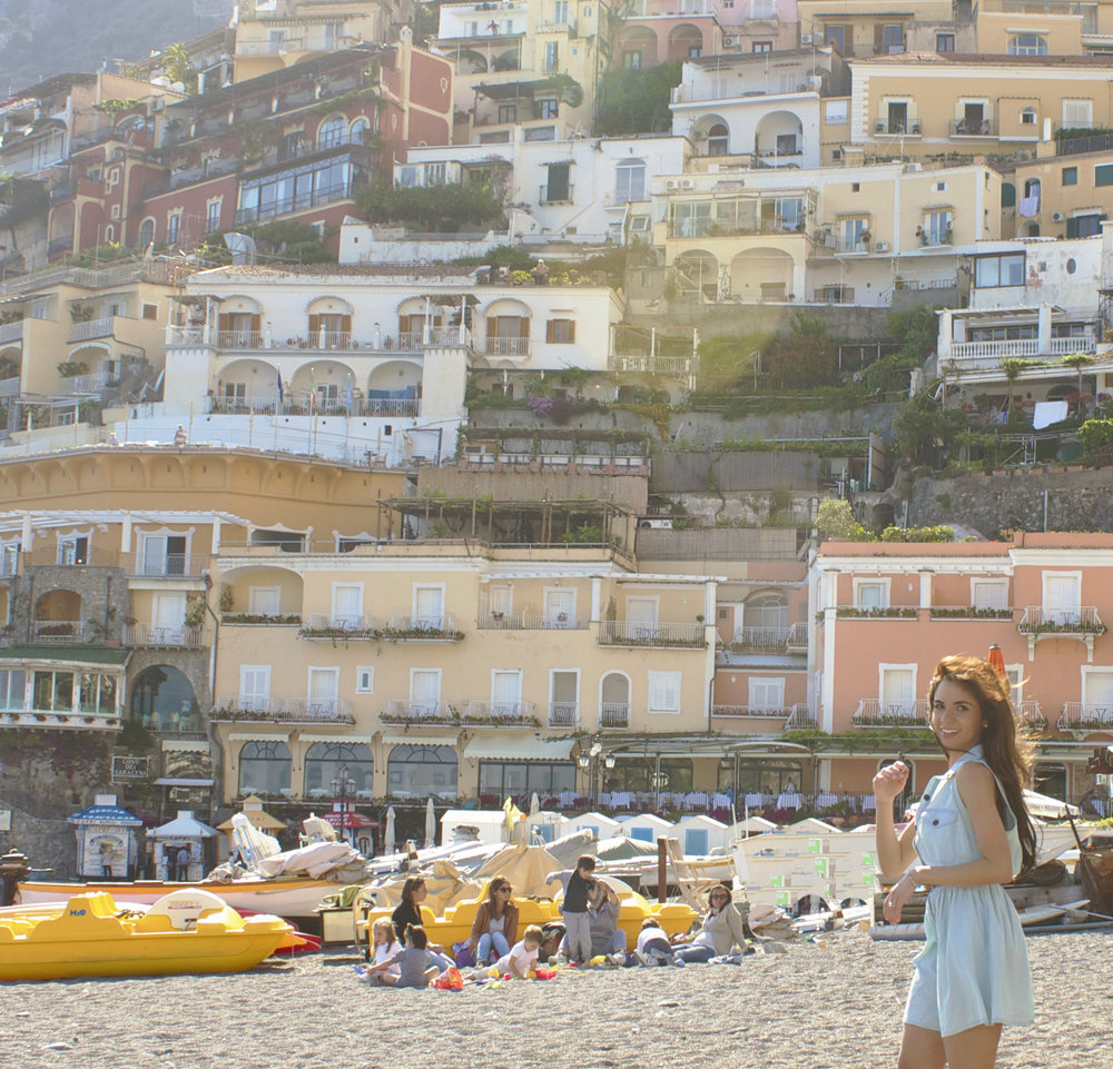 Photo Courtesy of Dame Traveler | Positano