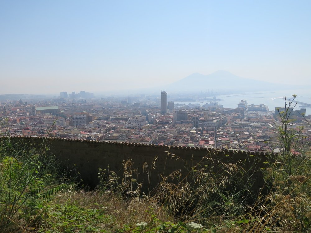 The icon of this region, Mt. Vesuvius |  Pic Courtesy    of Icons Wanted