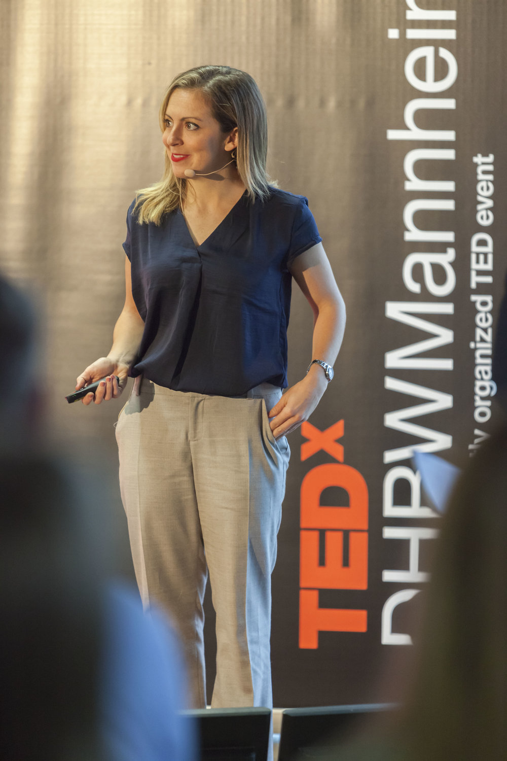 CASSANDRA SPEAKING AT TEDX DHBW MANNHEIM