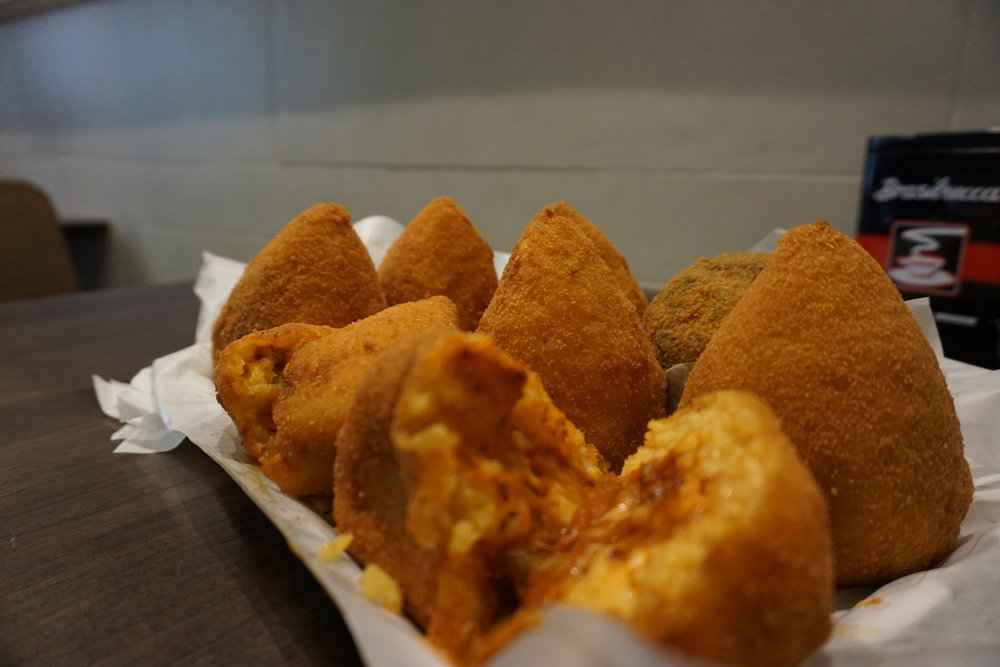 Typical  arancino  (rice balls) from our food tour. PICTURE BY TRAVEL ITALIAN STYLE