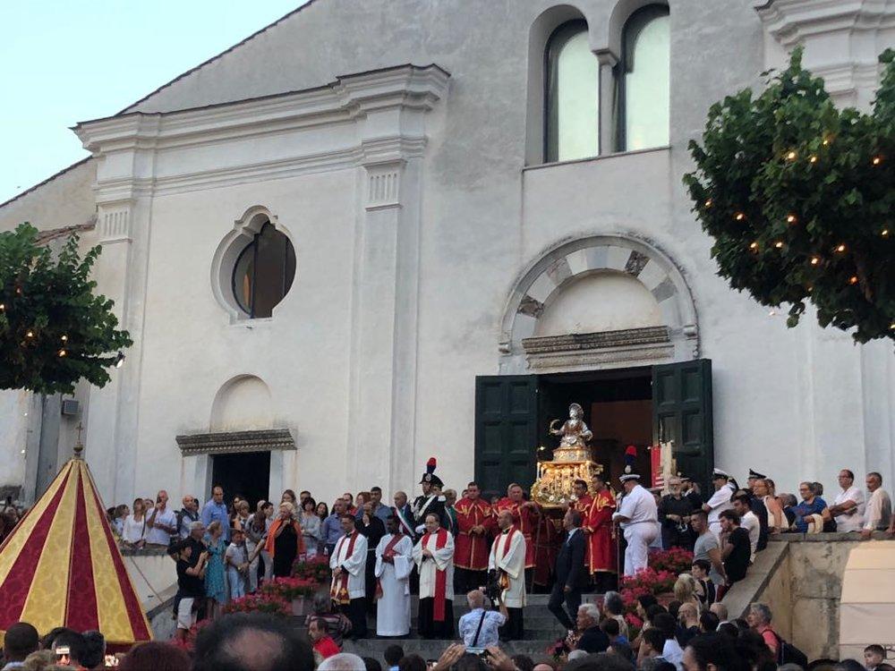 Celebrating one of the many Saints on the Amalfi Coast - 2018