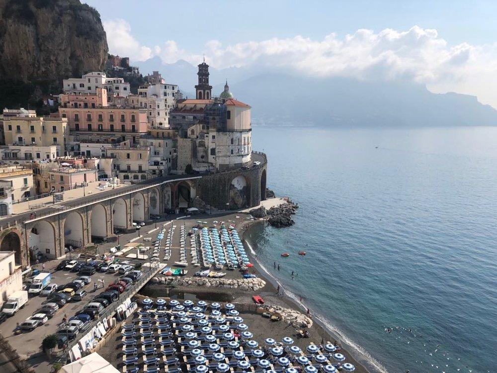 """Atrani Italy - one of my many """"home towns"""" in Italy - 2018"""
