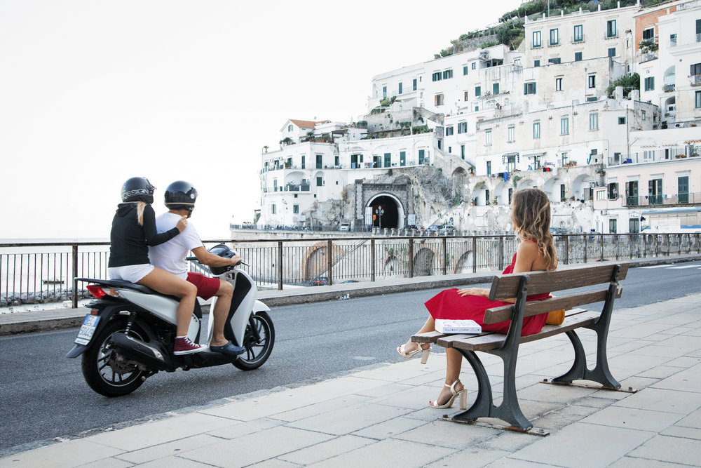 Practicing my best La Bella Figura on the Amalfi Coast 2018