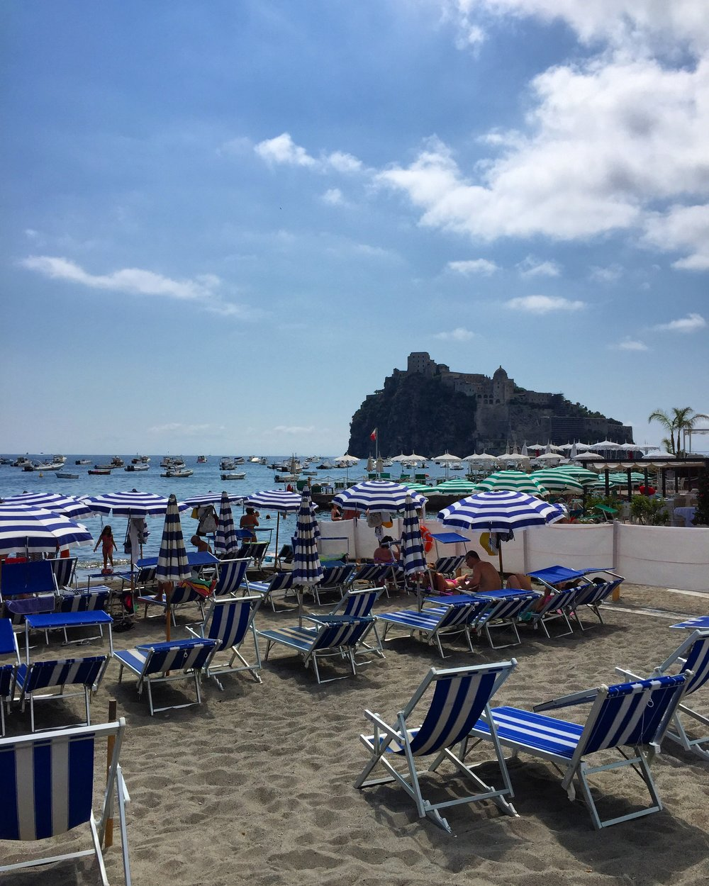 The island of Ischia makes an appearance during the final episode - Picture of Aragonese Castle Courtesy of Travel Italian Style
