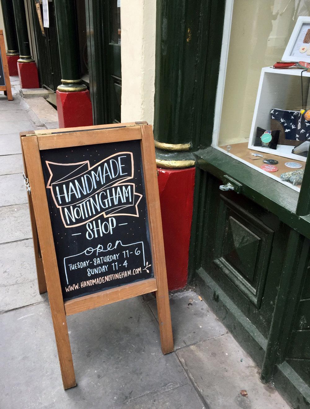Handmade Nottingham