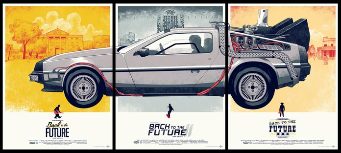 Phantom Collective's amazing trilogy posters