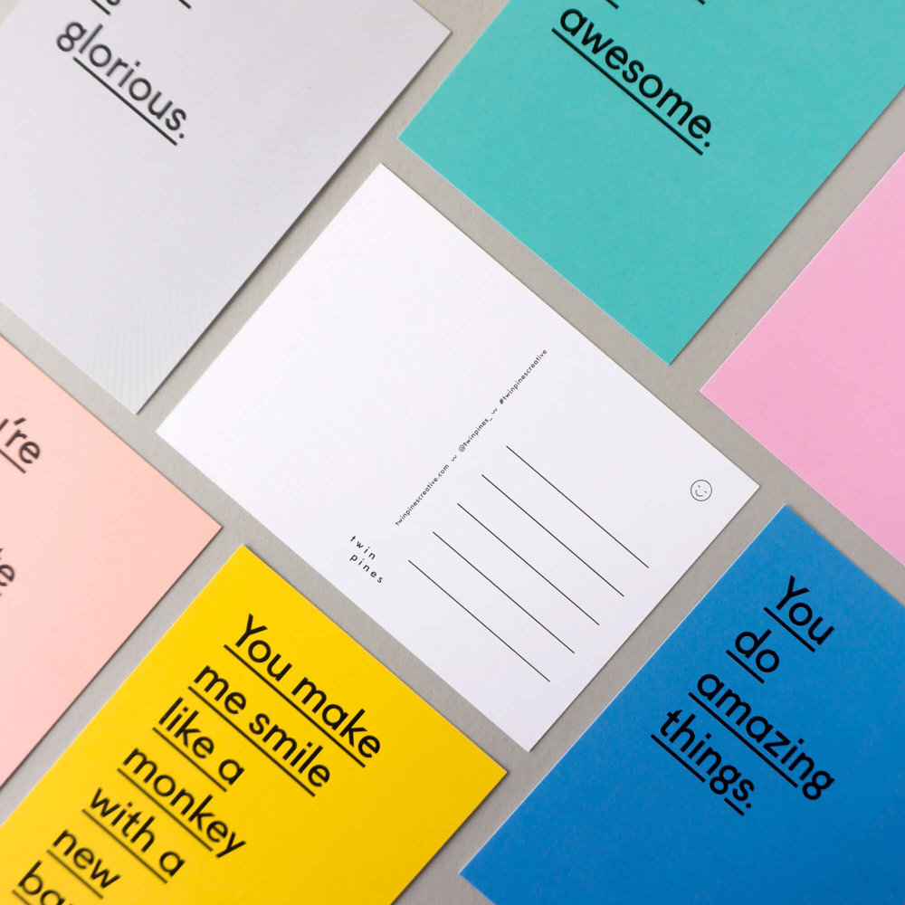 Contemporary paper goods for those who enjoy the silly -