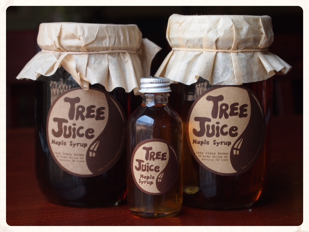 Tree Juice Maple Syrup from Lazy Crazy Acres