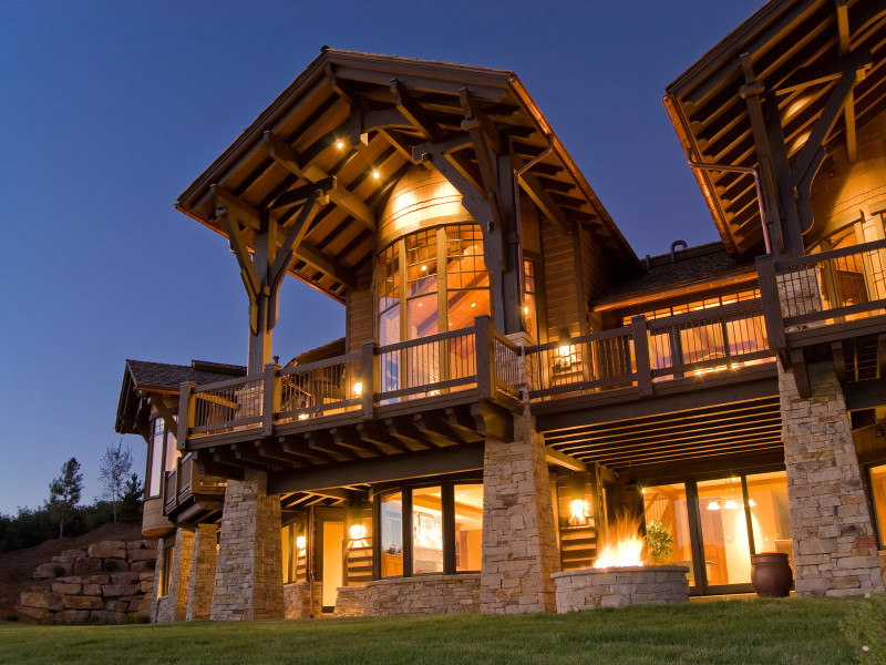 Built by Cameo Homes Inc. in Tuhaye, Park City, Utah.