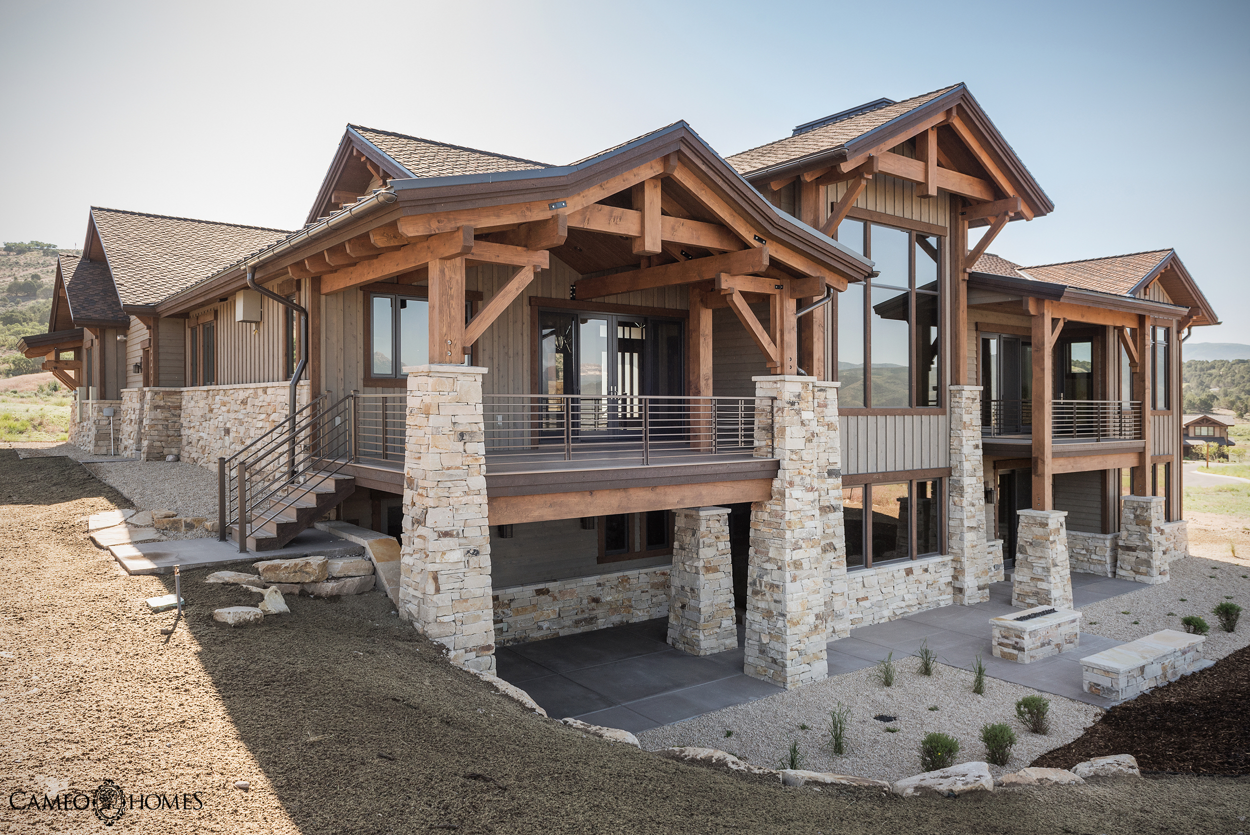 Built by Cameo Homes Inc. in Red Ledges, Heber, Utah.