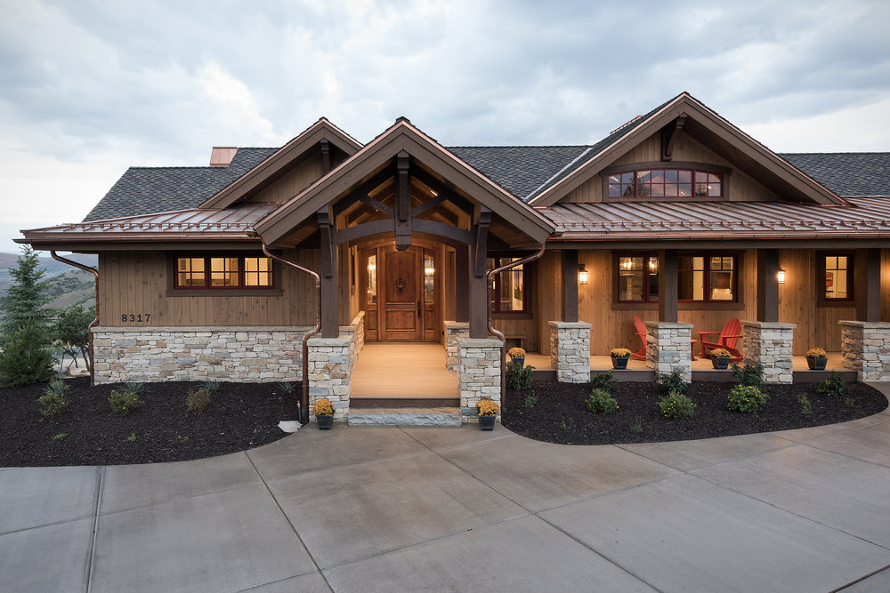 Home Built By Park City Luxury Builders Cameo Homes Inc