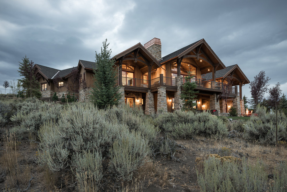 Home built by Park City Luxury Home Builders, Cameo Homes Inc.
