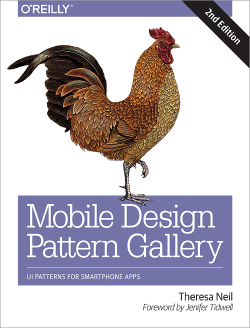 Theresa Neil's Mobile Design Pattern Gallery, 2nd Ed.