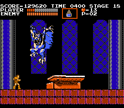 CastleVania for THE NES:  Unimprovable Graphics