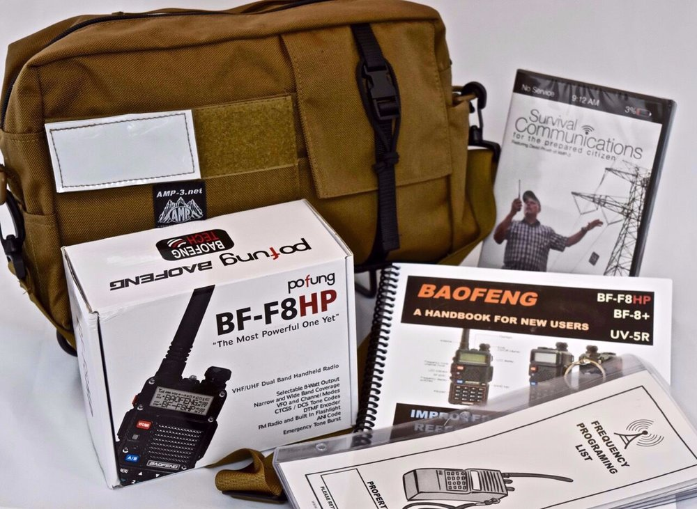 Medical & Specialty Gear for  THE PREPARED CITIZEN!    AMP-3, LLC   Shop Amateur Radio