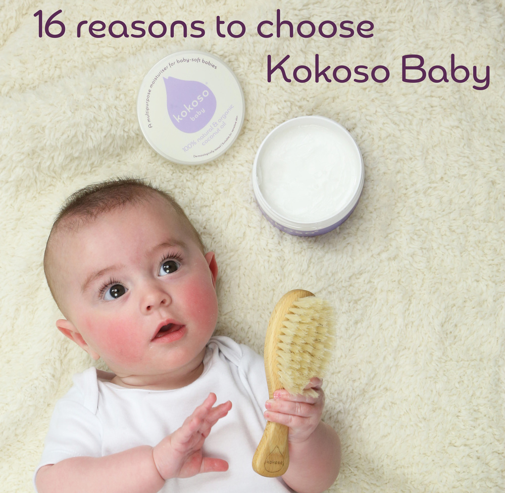 Kokoso Baby Coconut Oil for baby skin