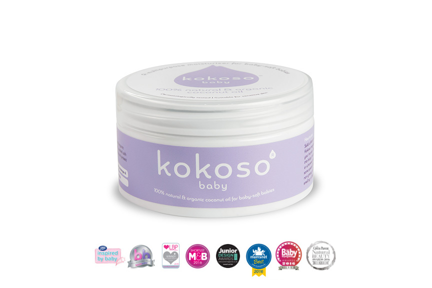 Kokoso Baby natural and organic Coconut oil for babies