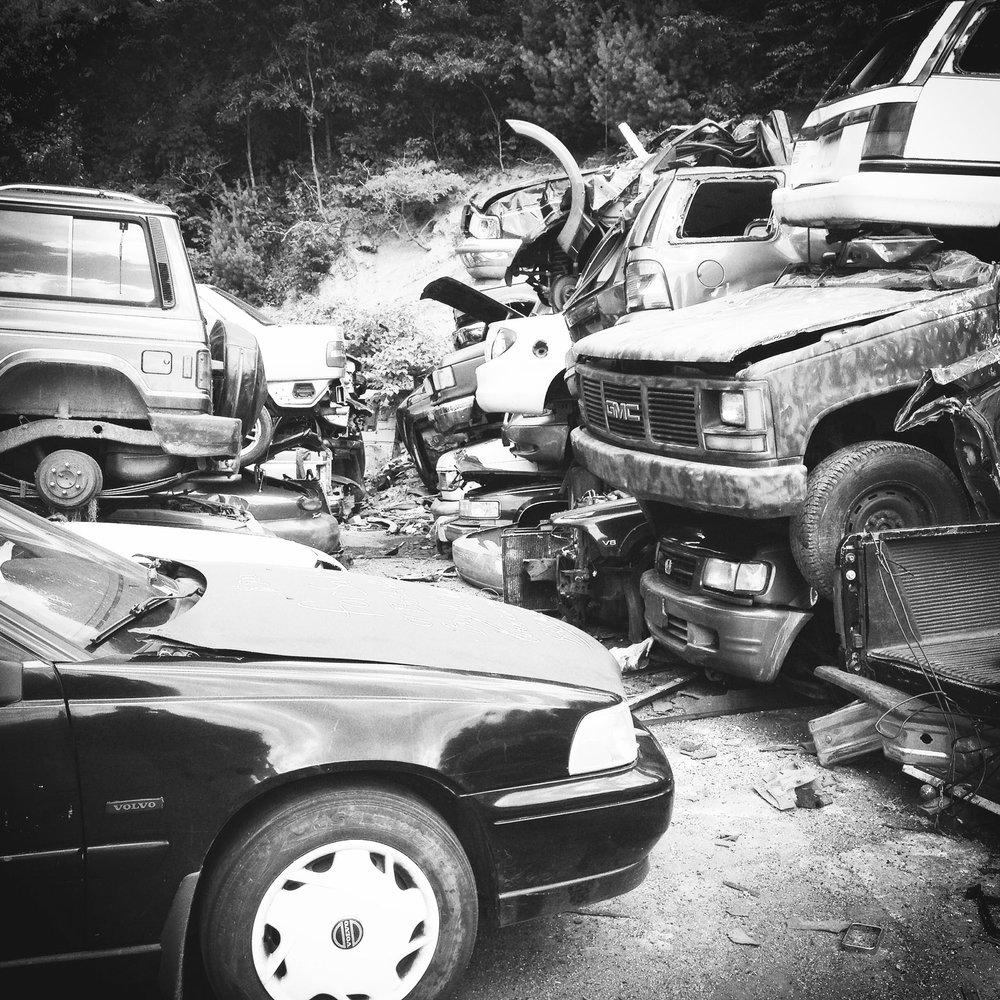 scrap yard cars b&w.jpg