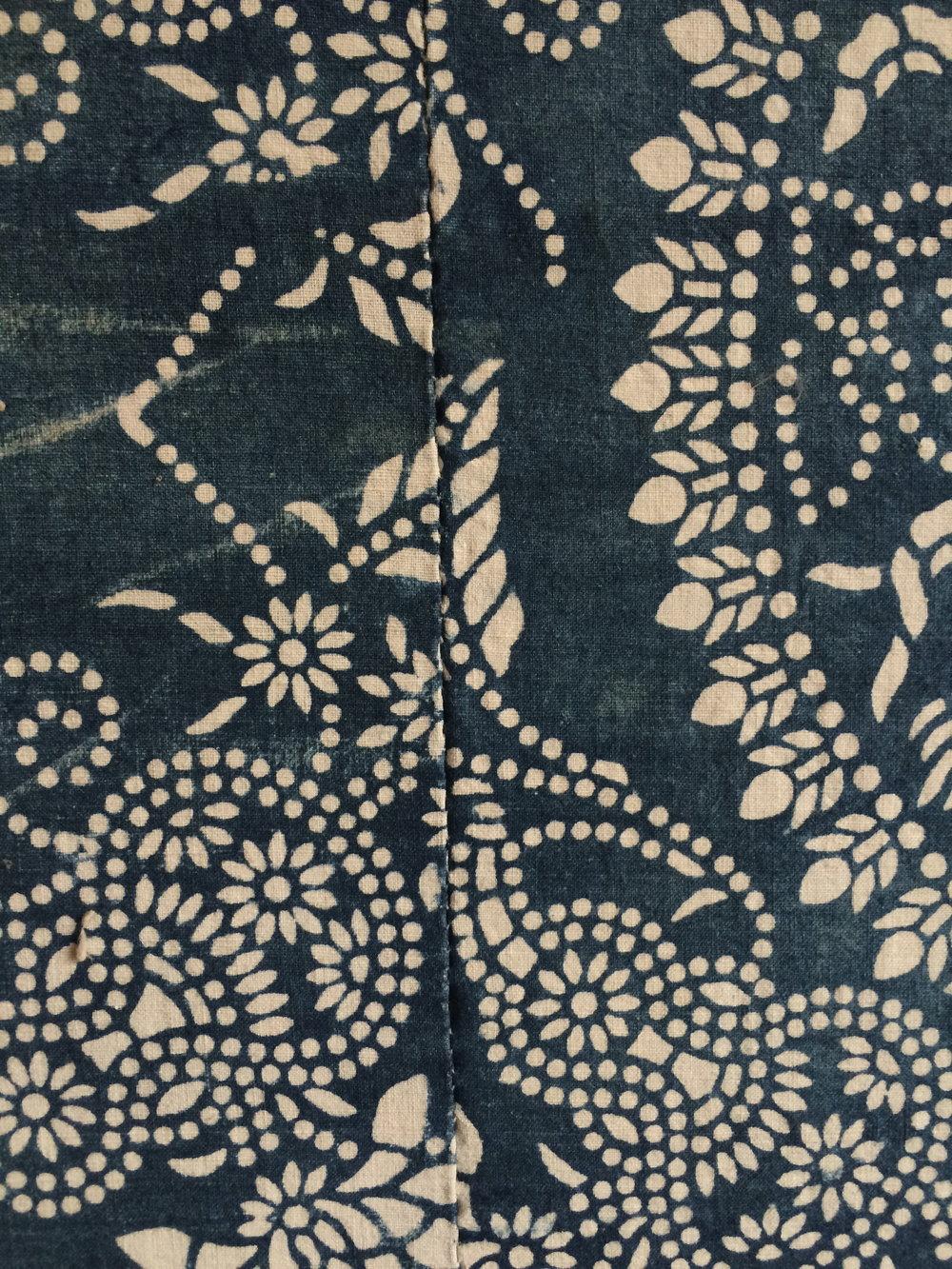 Nankeen printed textile