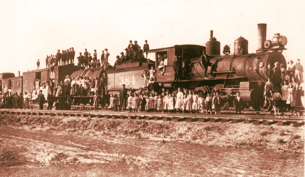 Jacob Reis Photo of Orphan Train Riders