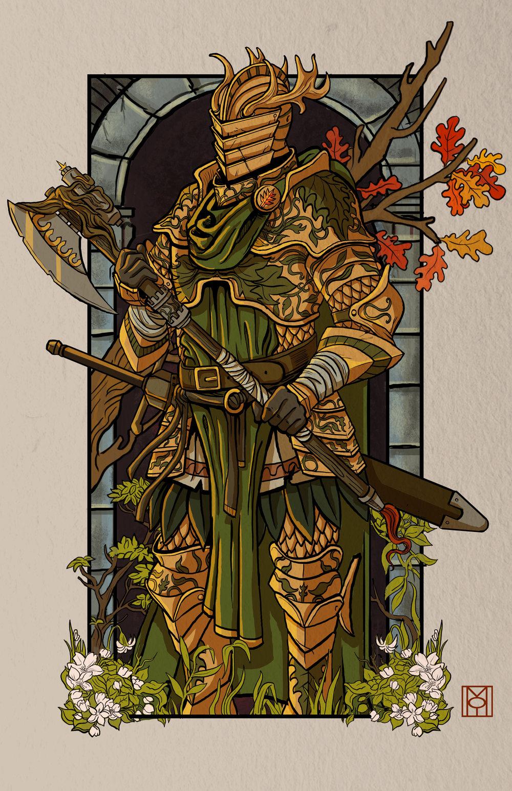 Bercilak: The Green Knight