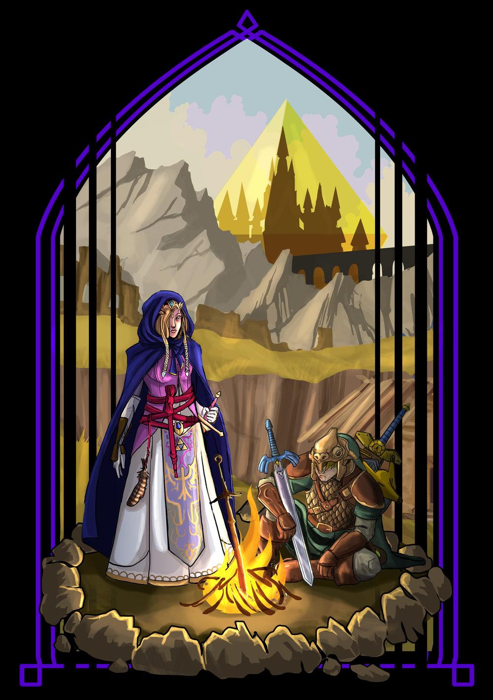 The Legend of Zelda: Dark Souls