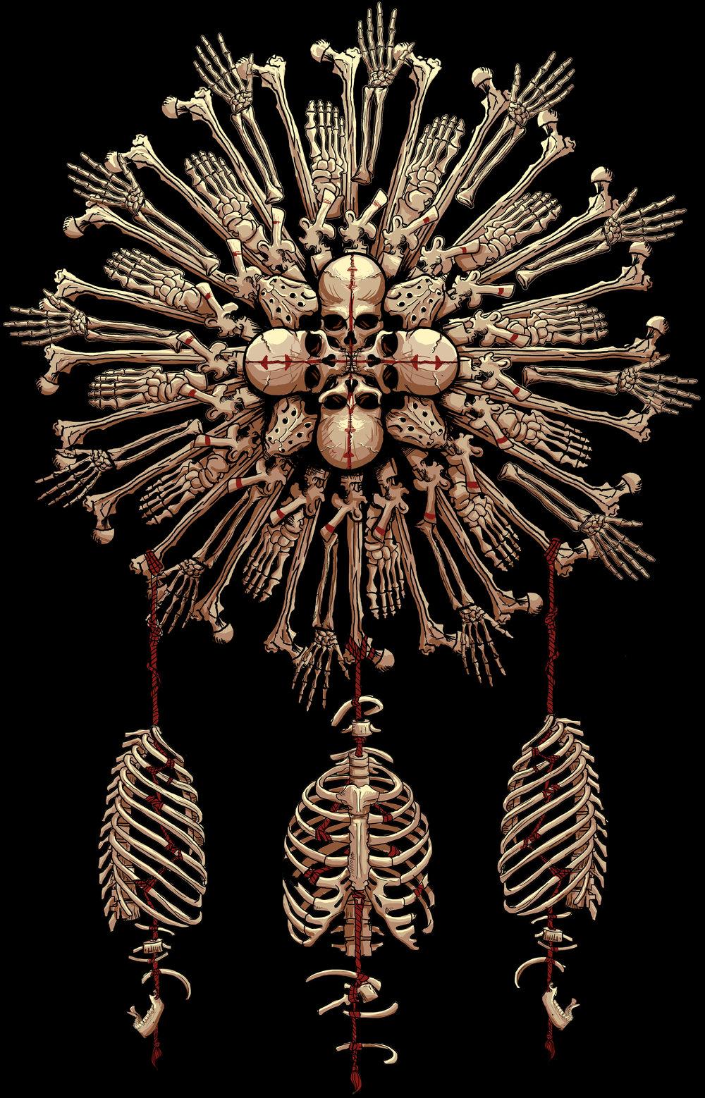 Bone Mandala