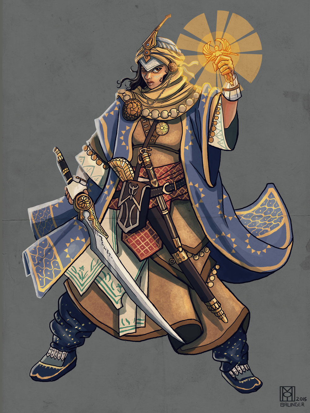 Kyra: Iconic Cleric