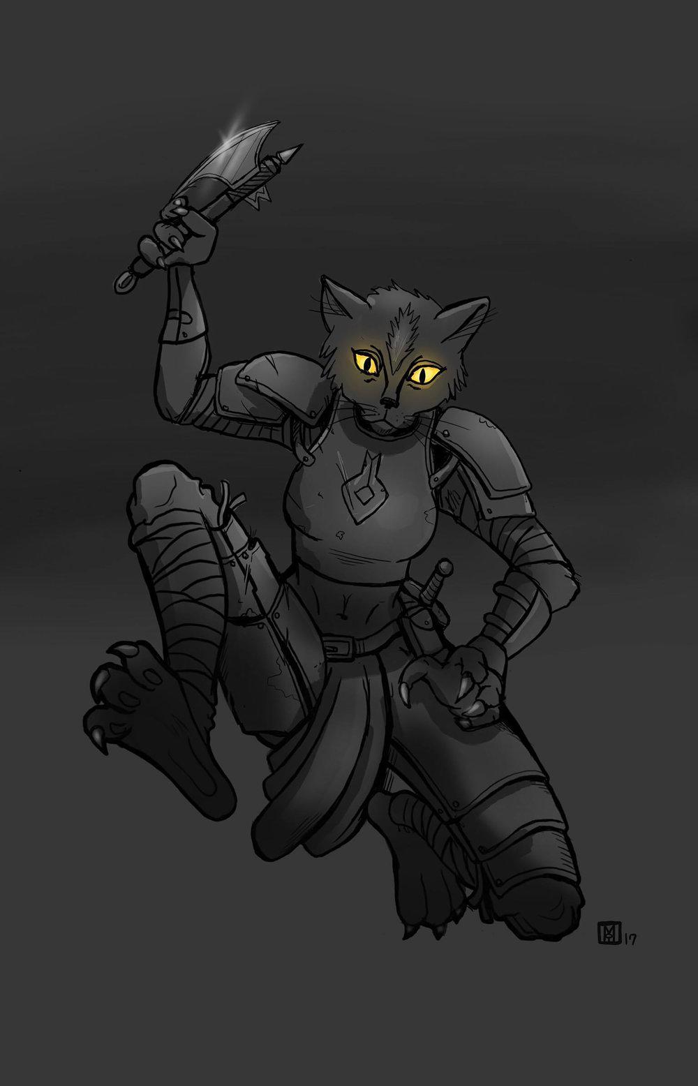 Catfolk Rogue