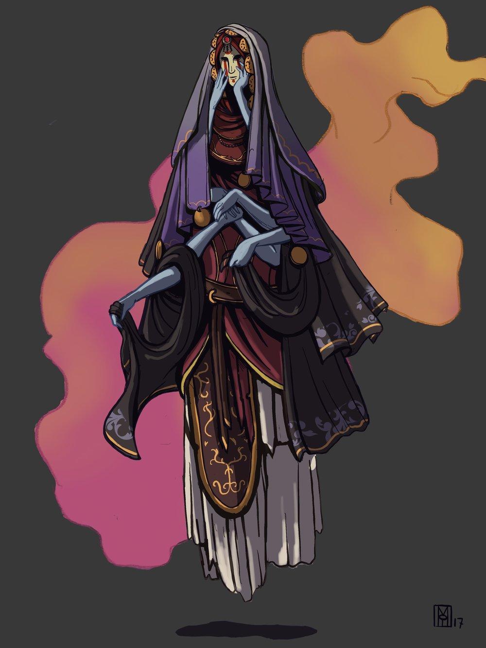 Character Design Challenge: Mask