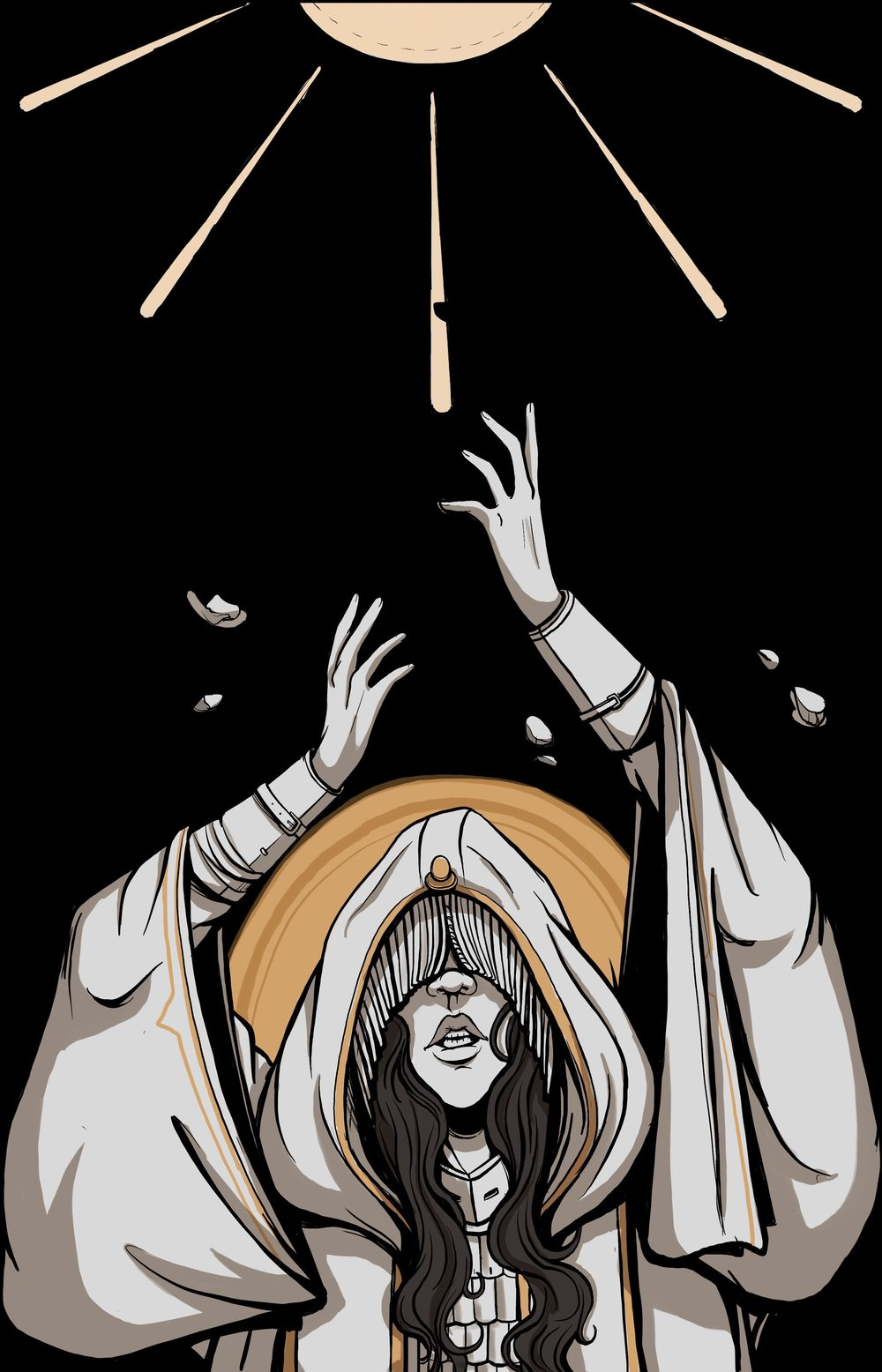Blind Cleric