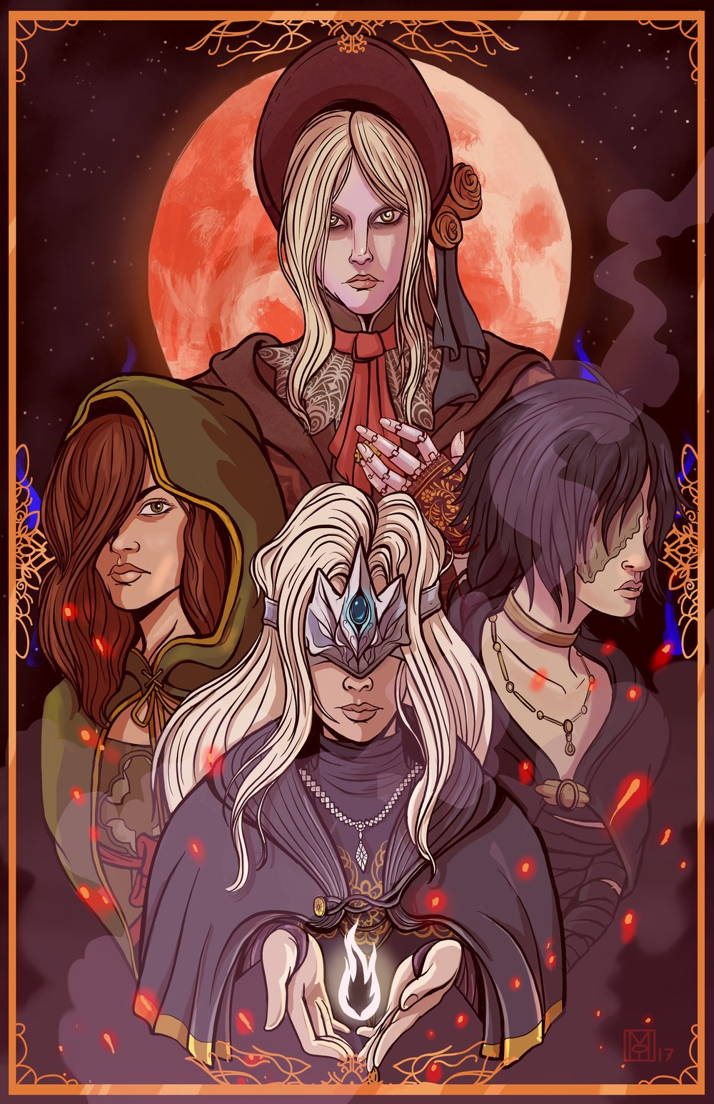 Soulsborne Maidens