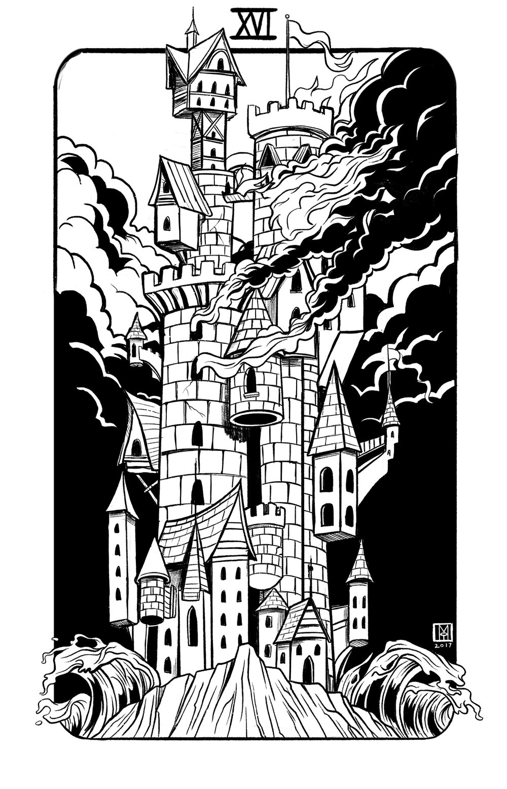 Major Arcana XVI: The Tower