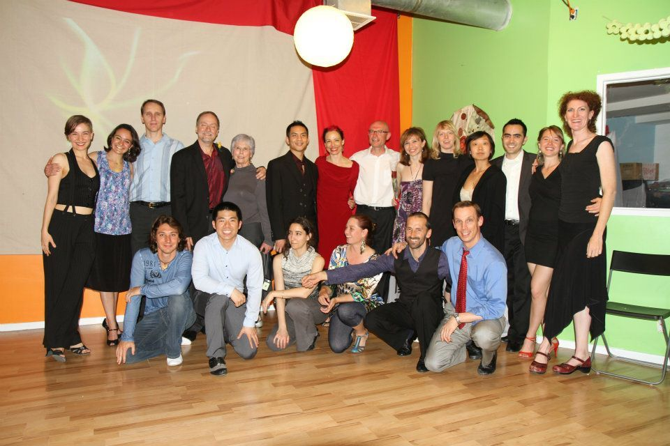 Glad graduates with their partners and coaches, Winter 2012. Can you spot the incoming challengers?