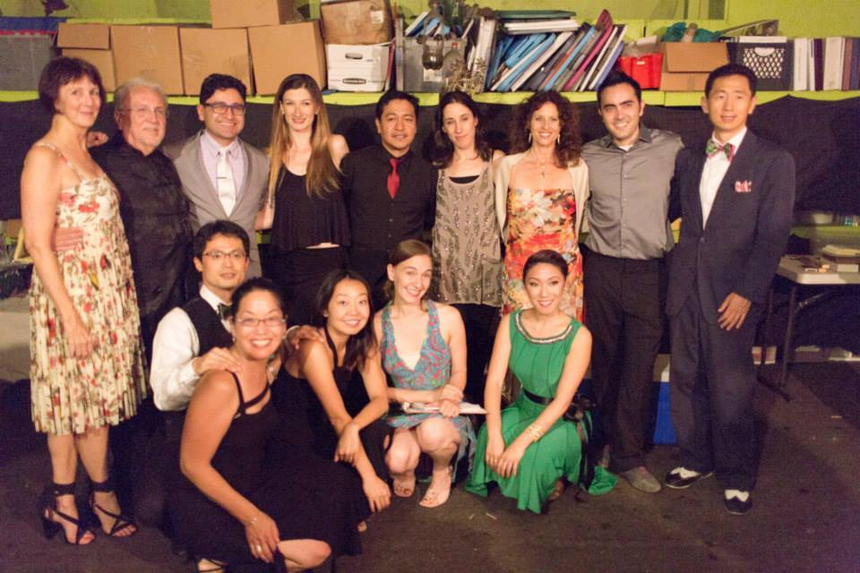 The Spring 2014 Tango Challenge Team, with their partners after a fun recital